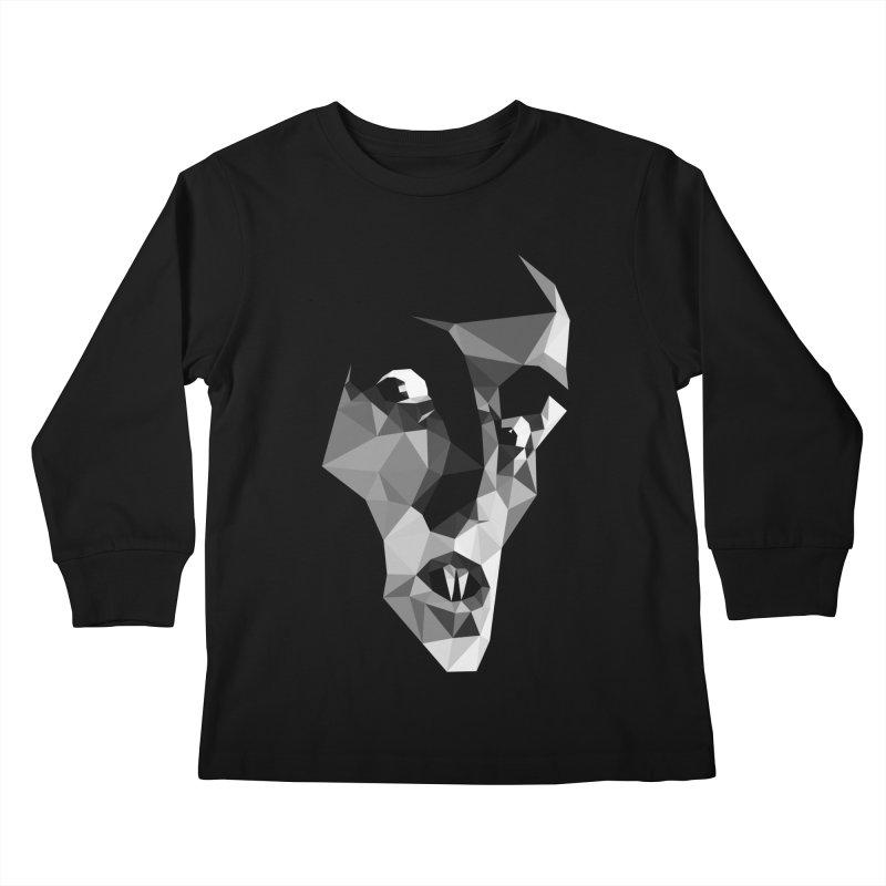Strigoi Kids Longsleeve T-Shirt by ToySkull