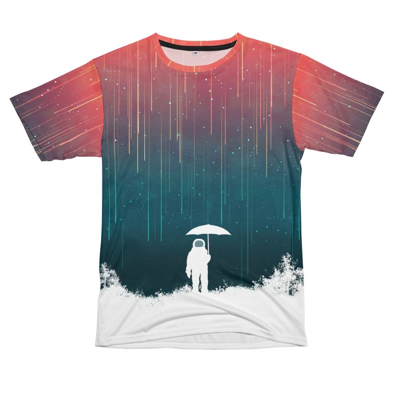 Meteor Shower Men's Cut & Sew by Trabu - Graphic Art Shop