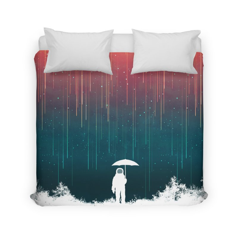 Meteor Shower Home Duvet by Trabu - Graphic Art Shop