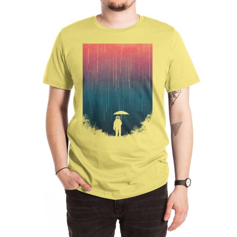 Meteor Shower Men's T-Shirt by Trabu - Graphic Art Shop