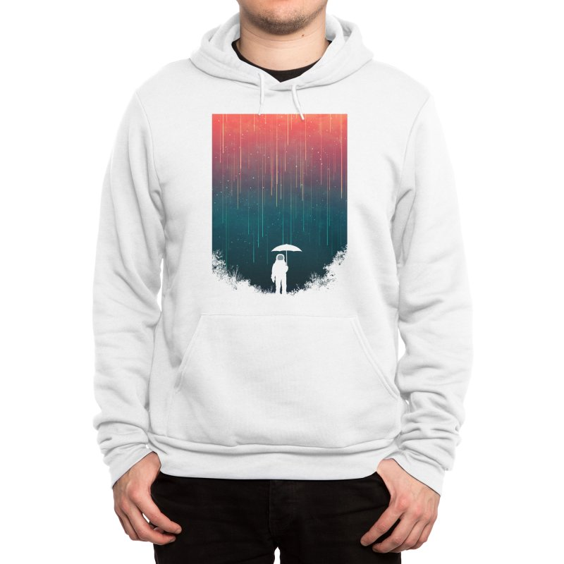 Meteor Shower Men's Pullover Hoody by Trabu - Graphic Art Shop