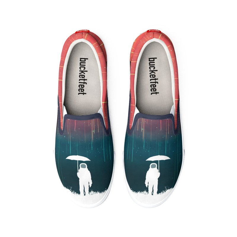 Meteor Shower Men's Shoes by Trabu - Graphic Art Shop