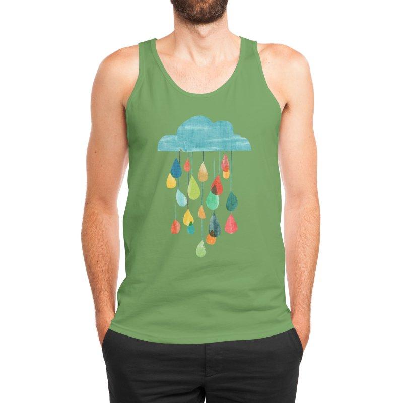 It is raining rainbow Men's Tank by Trabu - Graphic Art Shop