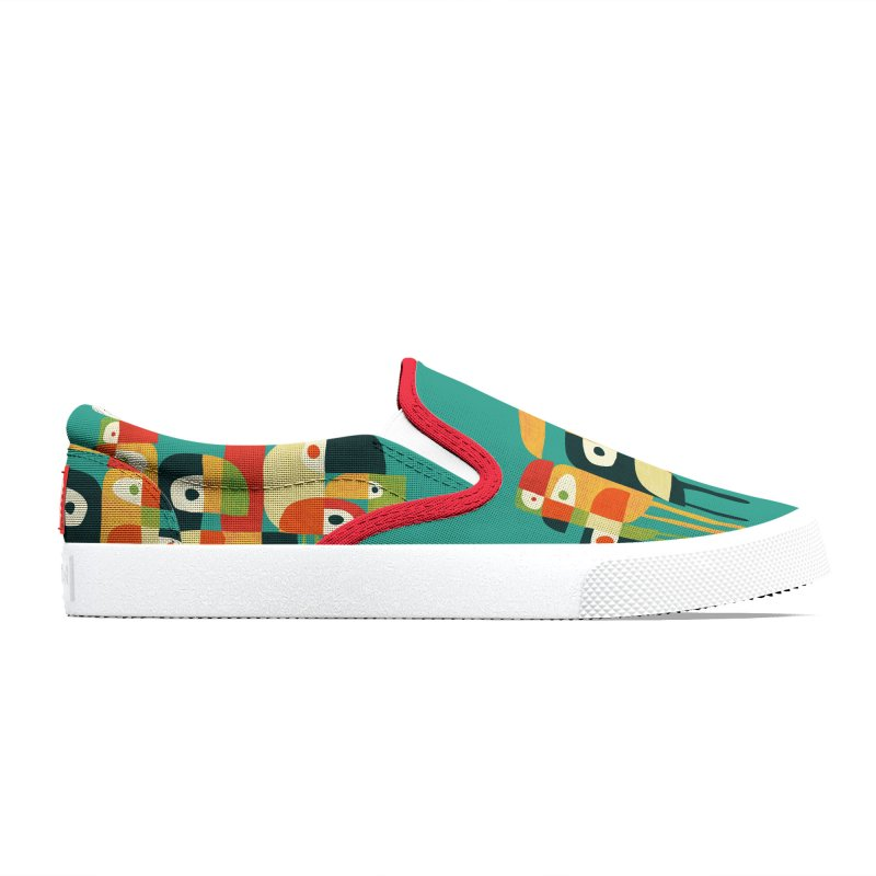 Birds Men's Shoes by Trabu - Graphic Art Shop