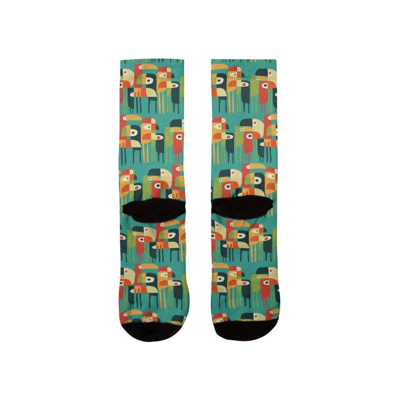Birds Men's Socks by Trabu - Graphic Art Shop