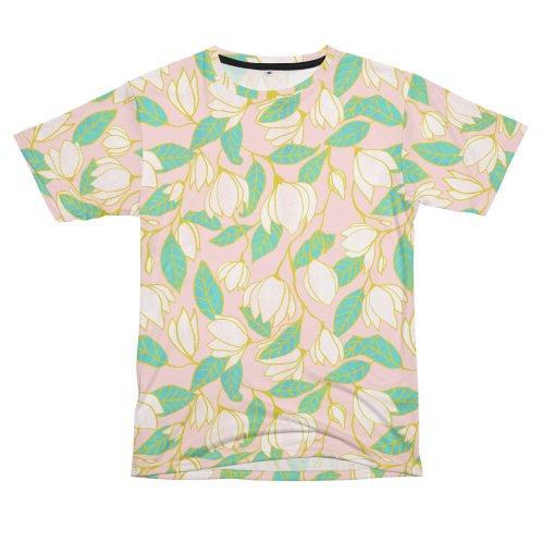 image for White magnolia pattern