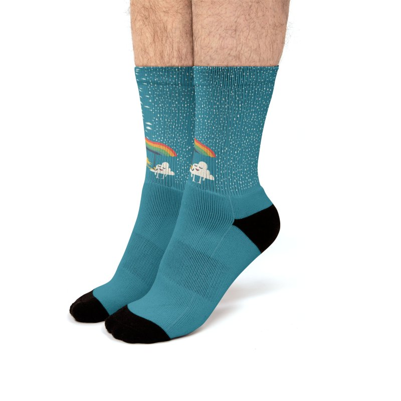 Mr and Mrs Men's Socks by Trabu - Graphic Art Shop
