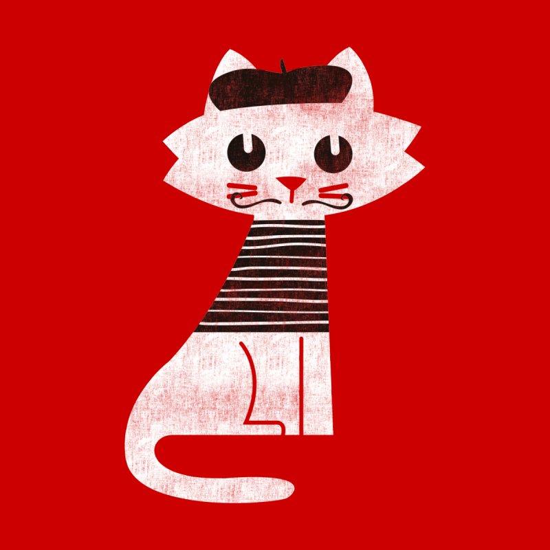 Cat from paris Women's Socks by Trabu - Graphic Art Shop