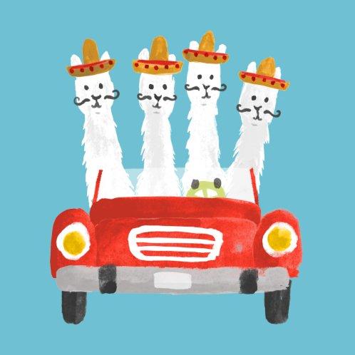 Design for Llamas on a roadtrip
