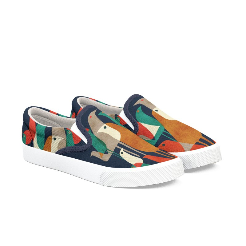 The flock Women's Shoes by Trabu - Graphic Art Shop