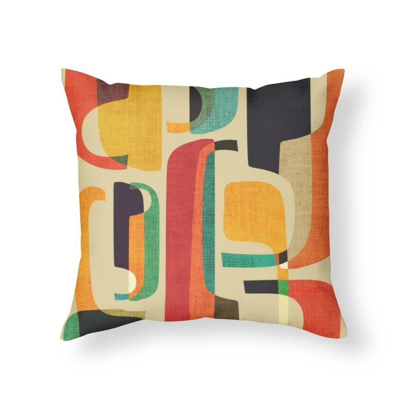 Mid-century modern Home Throw Pillow by Trabu - Graphic Art Shop