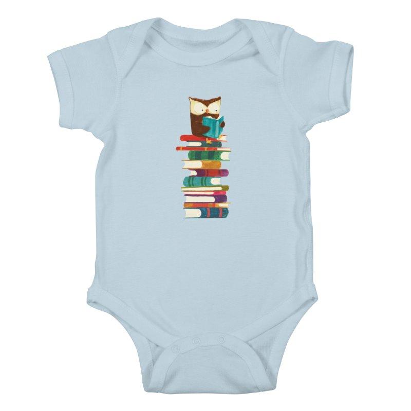 Wise owl Kids Baby Bodysuit by Trabu - Graphic Art Shop