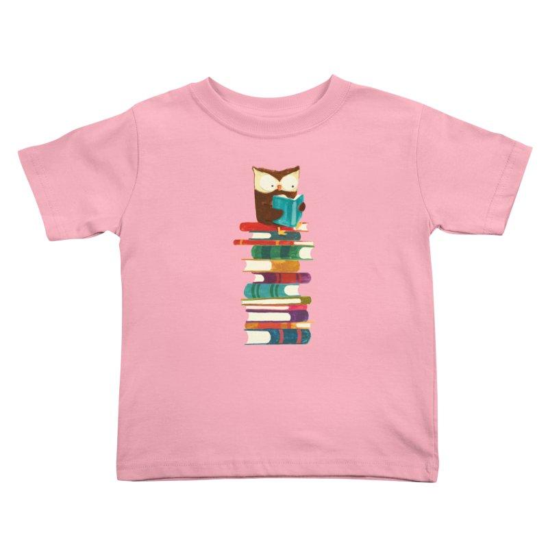 Wise owl Kids Toddler T-Shirt by Trabu - Graphic Art Shop