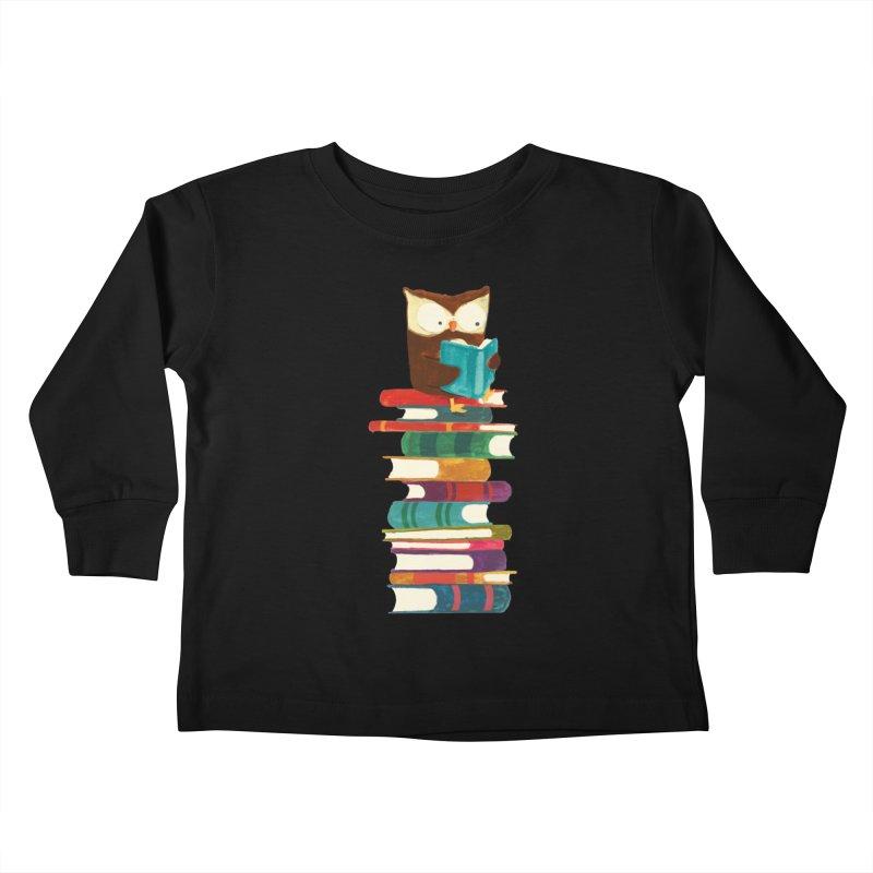 Wise owl Kids Toddler Longsleeve T-Shirt by Trabu - Graphic Art Shop