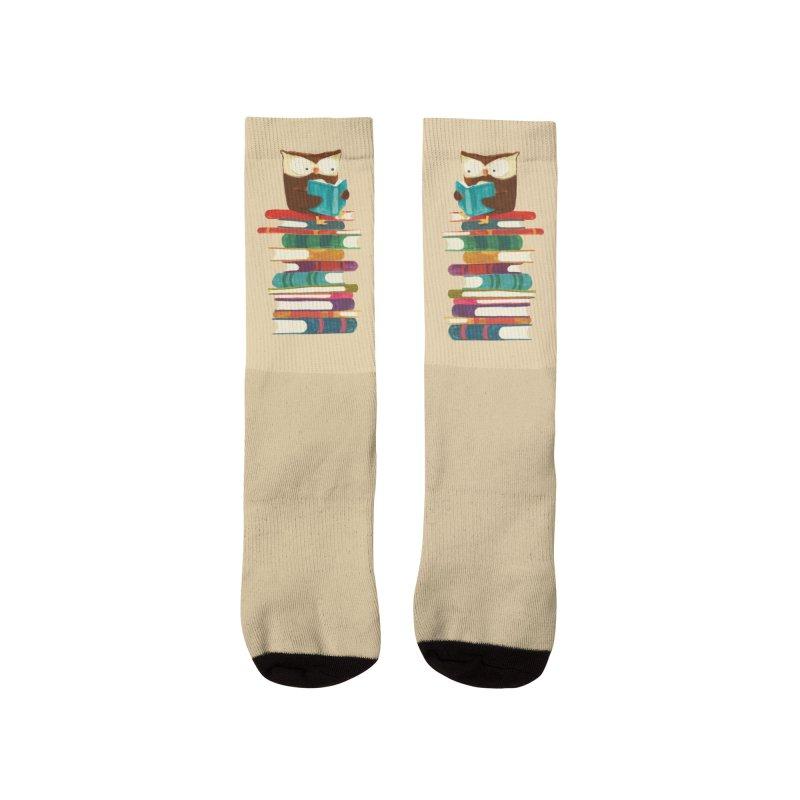 Wise owl Women's Socks by Trabu - Graphic Art Shop