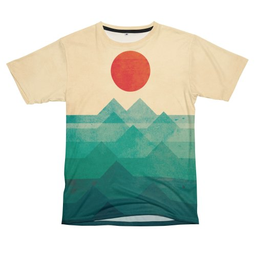image for Abstract geometric summer ocean