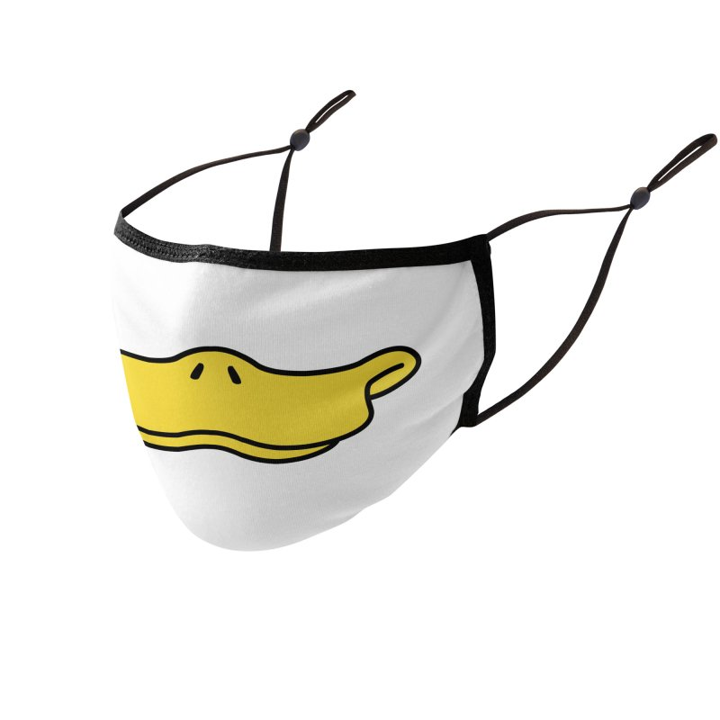 Duck face Accessories Face Mask by Trabu - Graphic Art Shop