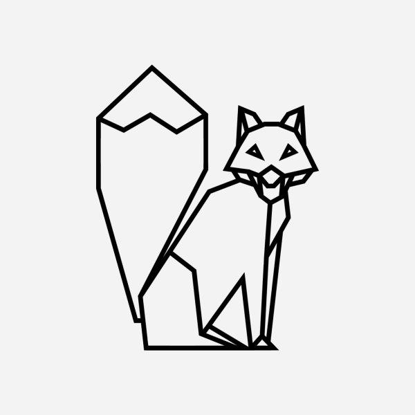 image for Polygonal fox