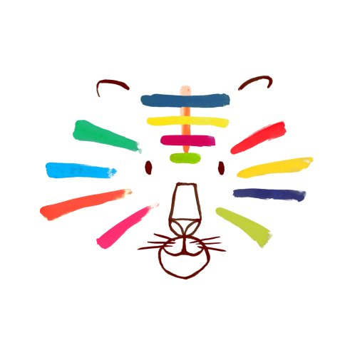 Design for Rainbow tiger