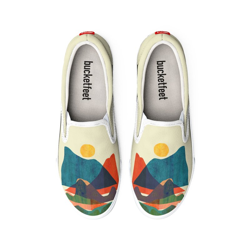 The great world Women's Shoes by Trabu - Graphic Art Shop