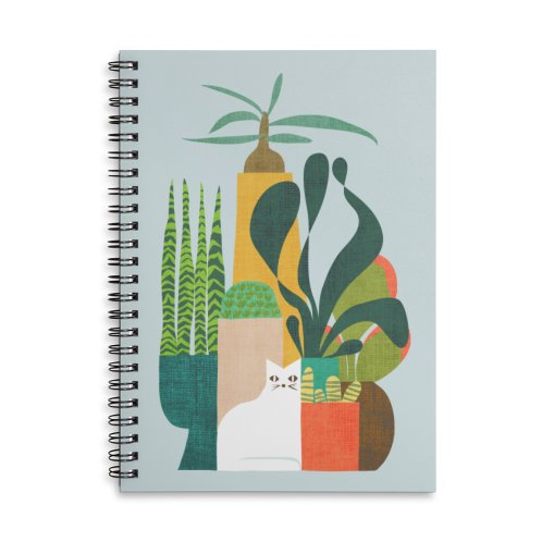 image for Cat and plants
