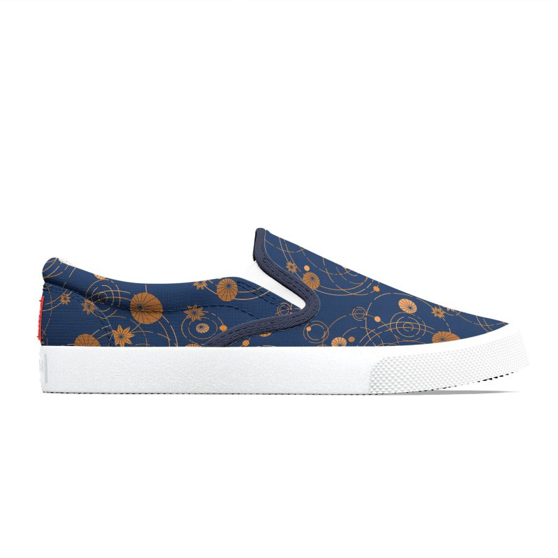 Geometric water lily Men's Shoes by Trabu - Graphic Art Shop