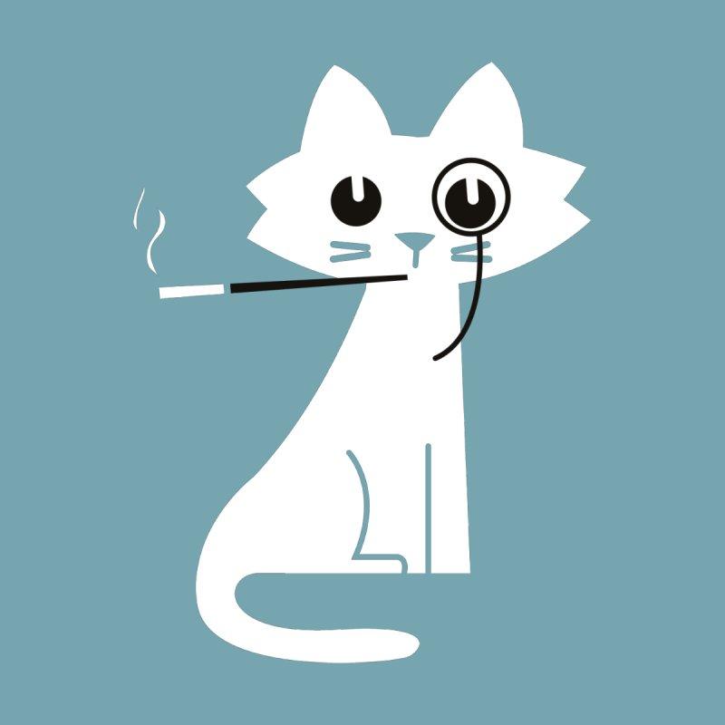 Classy cat Men's T-Shirt by Trabu - Graphic Art Shop