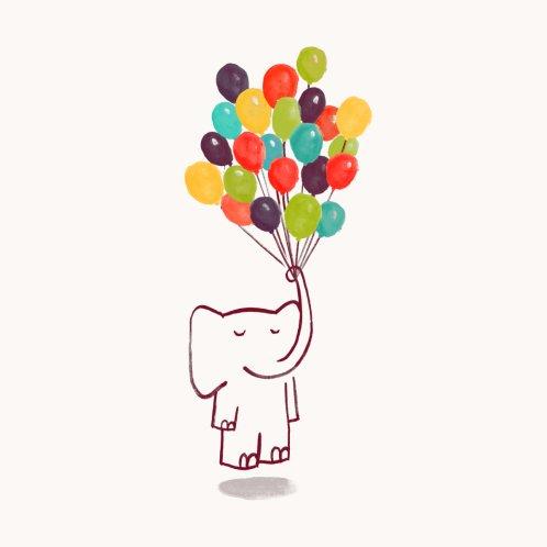 Design for Elephant on balloon