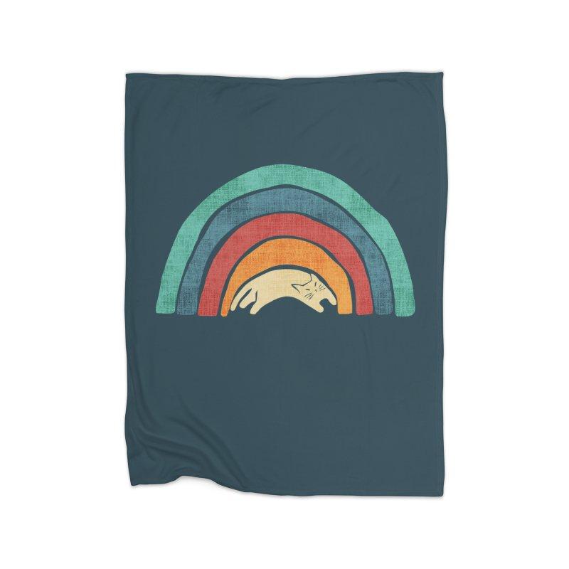 A little precious rainbow Home Blanket by Trabu - Graphic Art Shop