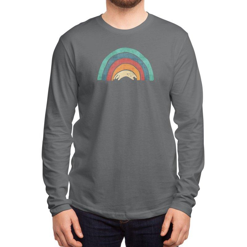 A little precious rainbow Men's Longsleeve T-Shirt by Trabu - Graphic Art Shop
