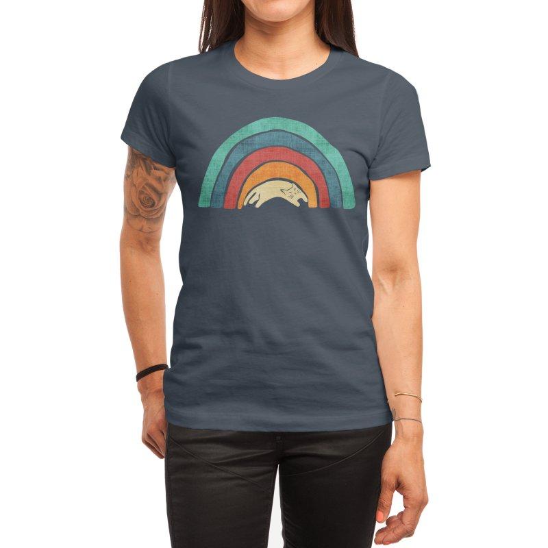 A little precious rainbow Women's T-Shirt by Trabu - Graphic Art Shop
