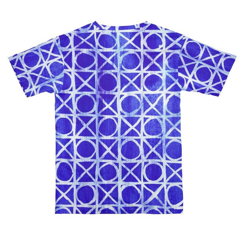 Textured geometry pattern Men's Cut & Sew by Trabu - Graphic Art Shop