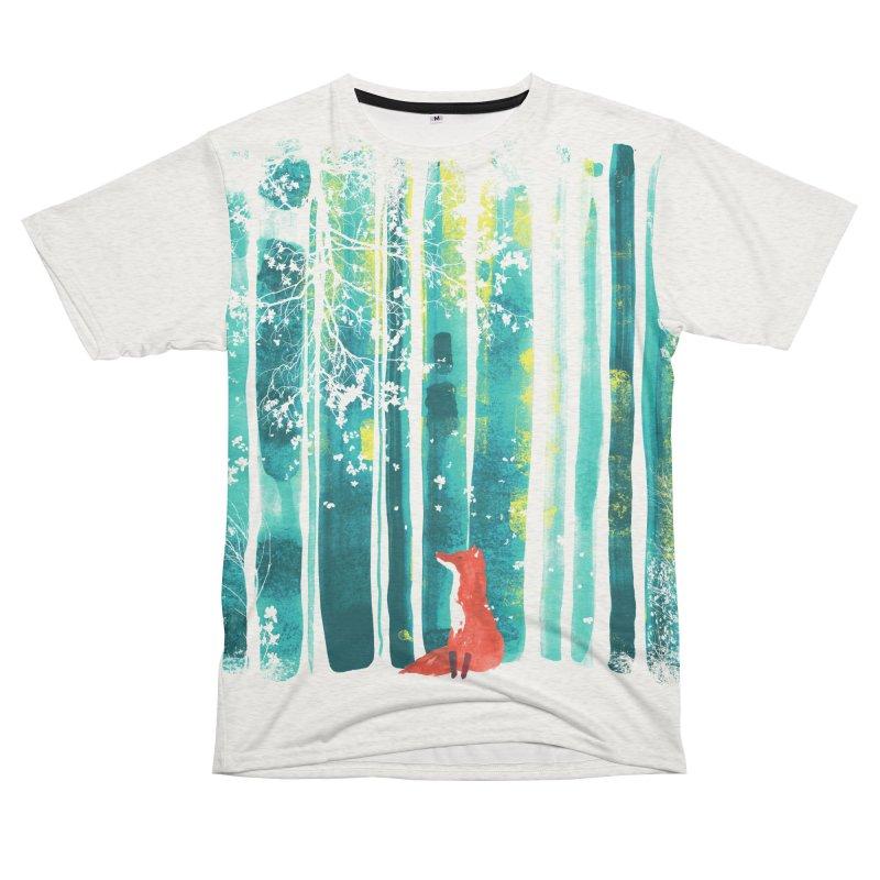 Lone Fox Men's Cut & Sew by Trabu - Graphic Art Shop