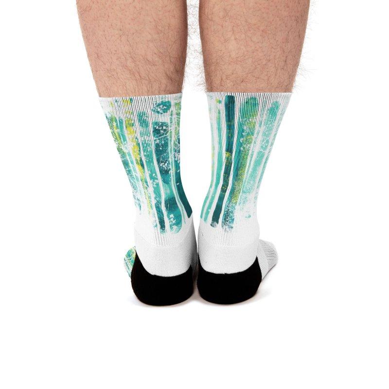 Lone Fox Men's Socks by Trabu - Graphic Art Shop