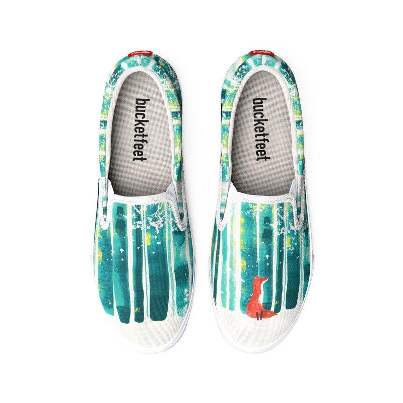 Lone Fox Women's Shoes by Trabu - Graphic Art Shop