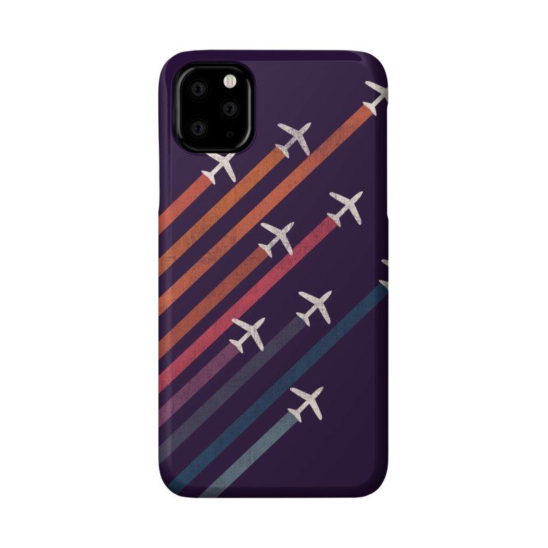 Flight Accessories Phone Case by Trabu - Graphic Art Shop
