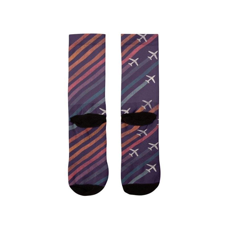 Flight Men's Socks by Trabu - Graphic Art Shop