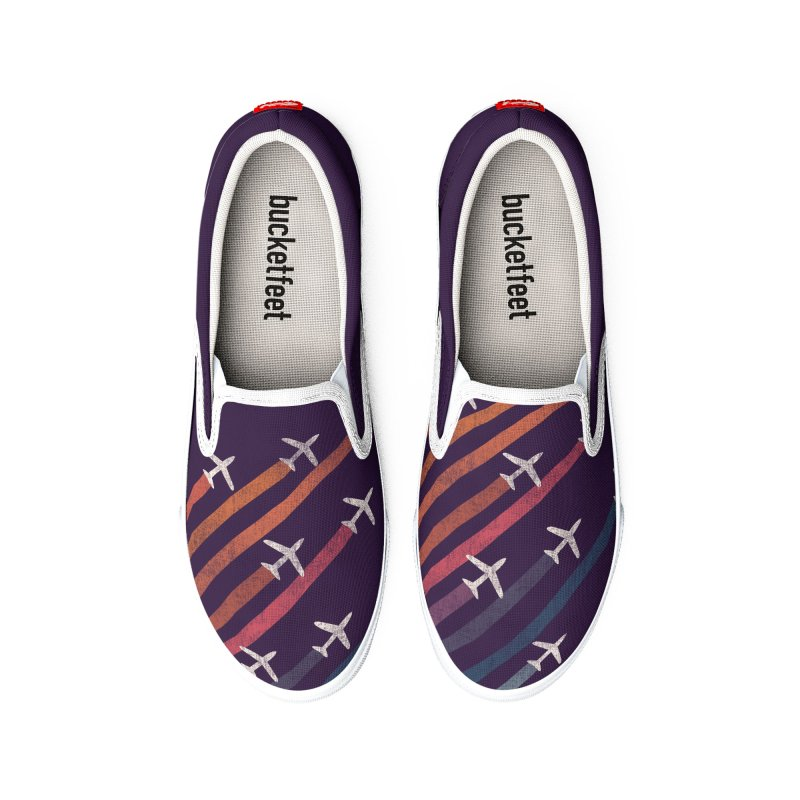 Flight Men's Shoes by Trabu - Graphic Art Shop