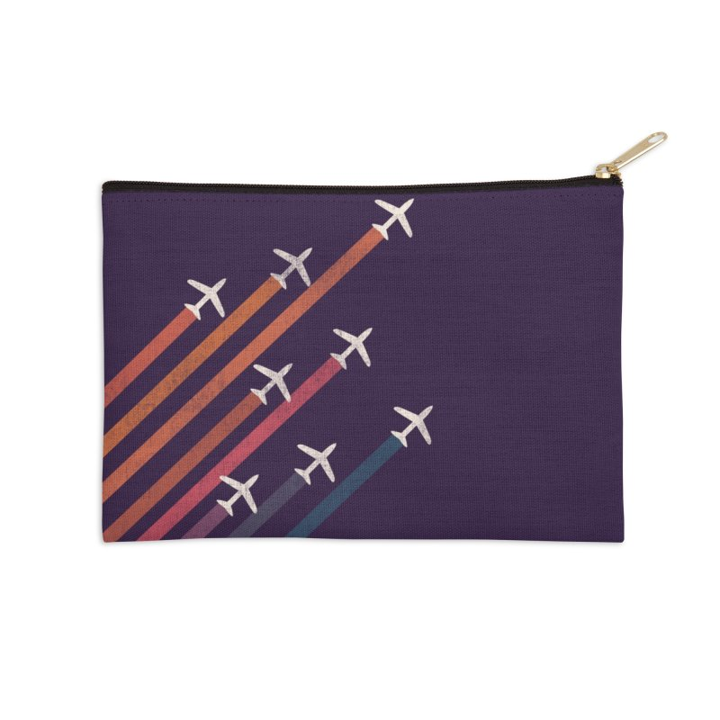 Flight Accessories Zip Pouch by Trabu - Graphic Art Shop