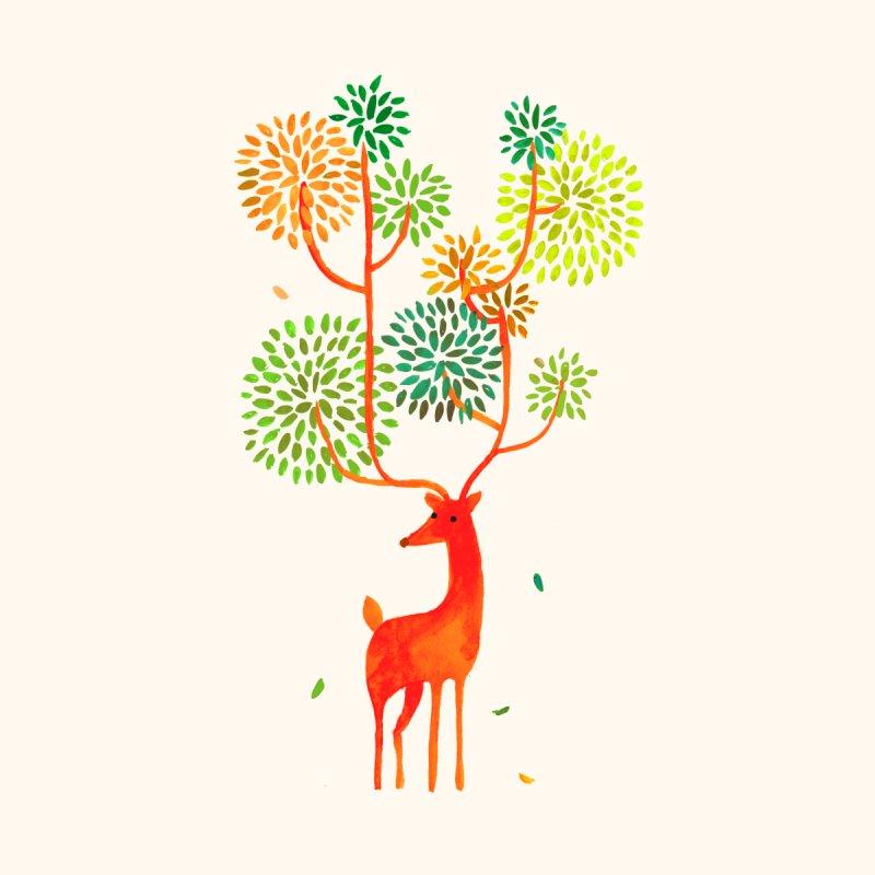 Wild Deer by Trabu - shop Cool Graphic t-shirt, art print, art