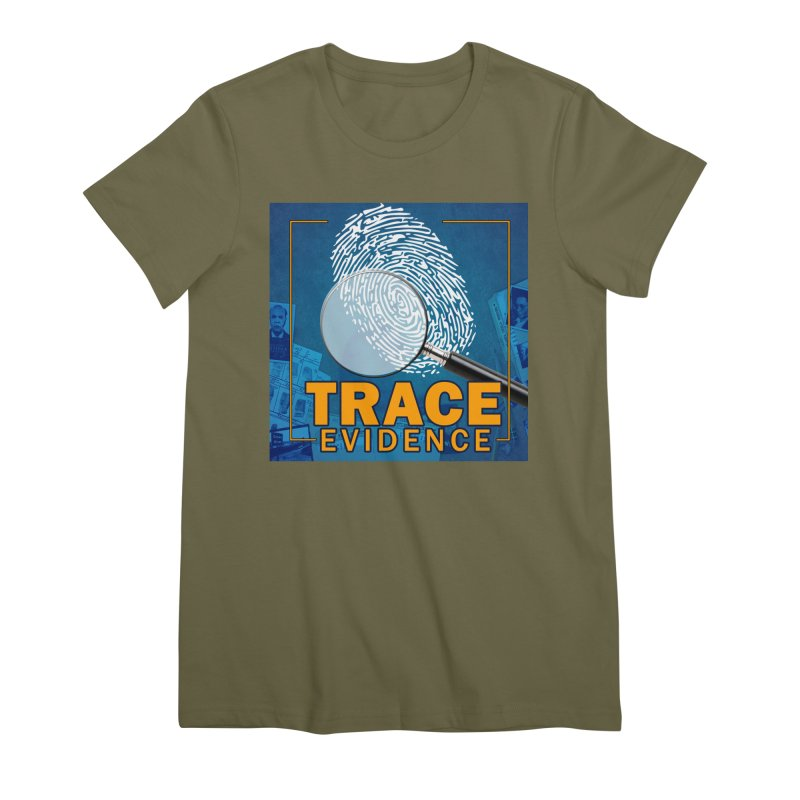 Old School Women's Premium T-Shirt by Trace Evidence - A True Crime Podcast