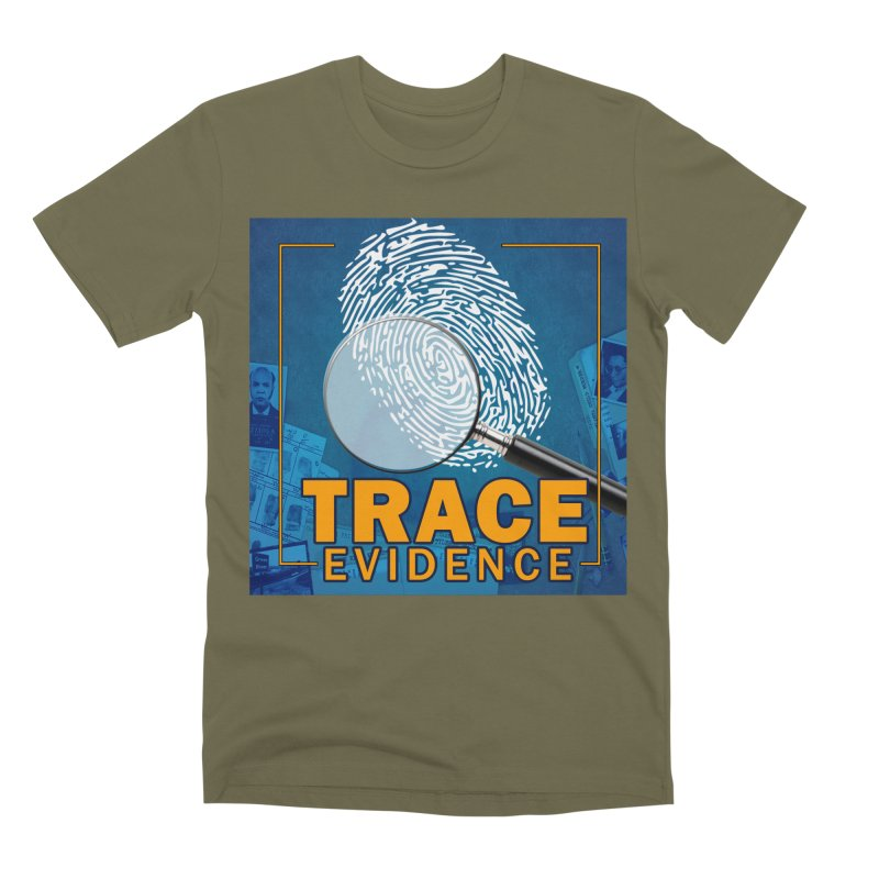 Old School Men's Premium T-Shirt by Trace Evidence - A True Crime Podcast