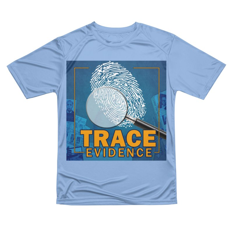 Old School Men's Performance T-Shirt by Trace Evidence - A True Crime Podcast