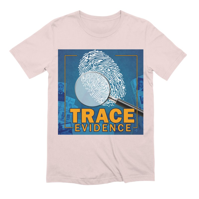 Old School Men's Extra Soft T-Shirt by Trace Evidence - A True Crime Podcast