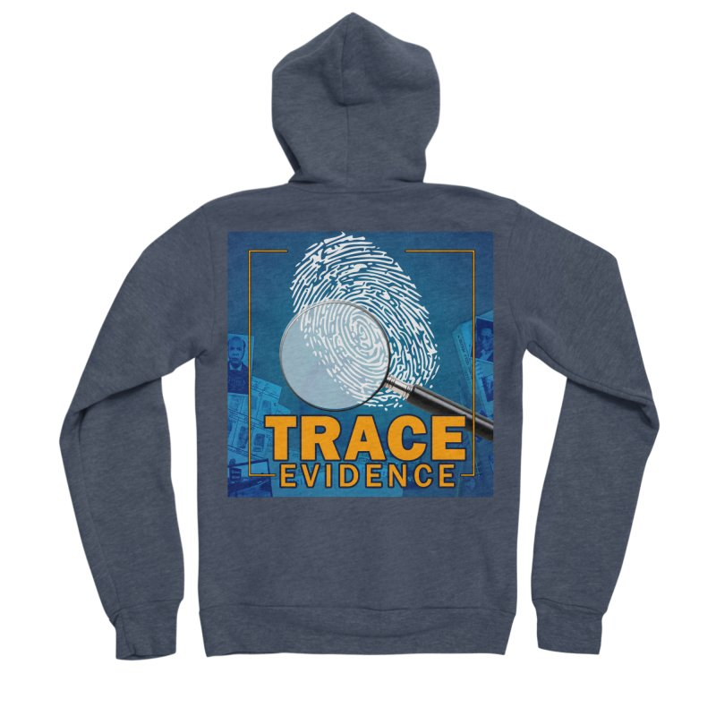 Old School Women's Sponge Fleece Zip-Up Hoody by Trace Evidence - A True Crime Podcast
