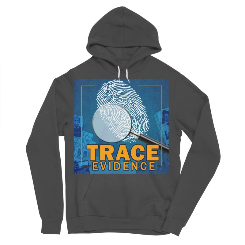 Old School Men's Sponge Fleece Pullover Hoody by Trace Evidence - A True Crime Podcast