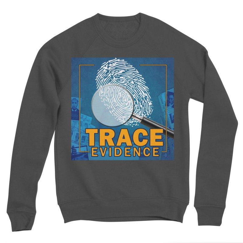 Old School Men's Sponge Fleece Sweatshirt by Trace Evidence - A True Crime Podcast