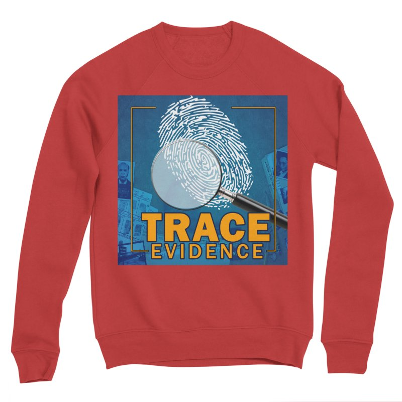 Old School Men's Sponge Fleece Sweatshirt by Trace Evidence - A True Crime Podcast
