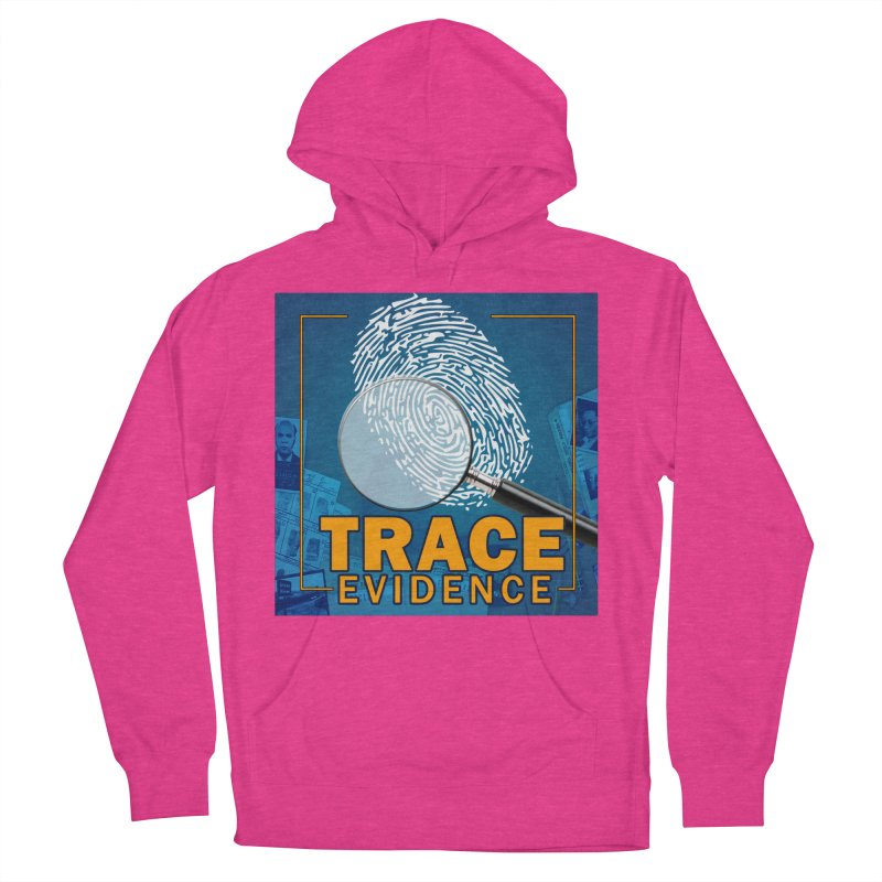Old School Women's French Terry Pullover Hoody by Trace Evidence - A True Crime Podcast