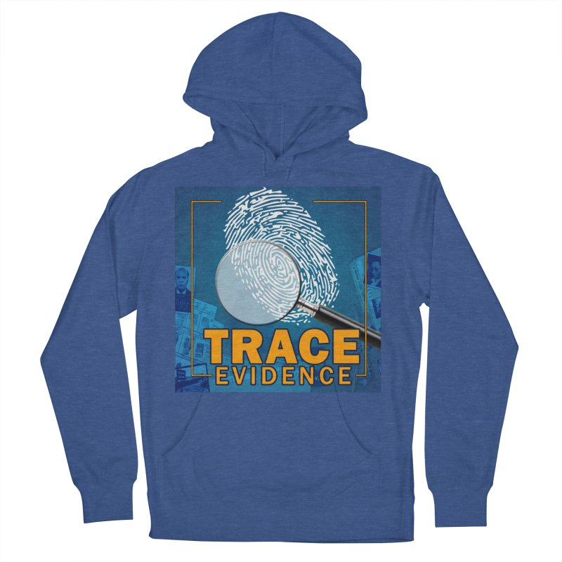 Old School Men's French Terry Pullover Hoody by Trace Evidence - A True Crime Podcast